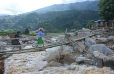 Chủ tịch nước Lào gửi điện thăm hỏi nạn nhân bị ảnh hưởng bởi mưa lũ