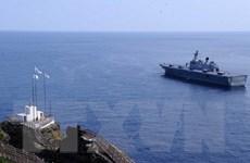 Nhật Bản phản đối Hàn Quốc triển khai quân tới đảo tranh chấp