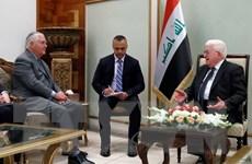 Ngoại trưởng Mỹ hối thúc chính quyền Iraq và người Kurd đối thoại