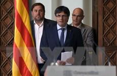Tây Ban Nha phát lệnh bắt các thành viên chính quyền cũ của Catalonia
