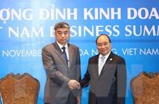 Thủ tướng Nguyễn Xuân Phúc tiếp các đoàn doanh nghiệp dự APEC