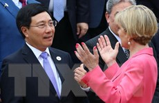 Ngày làm việc đầu tiên Hội nghị liên Bộ trưởng Ngoại giao-Kinh tế APEC