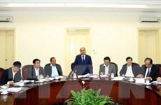 Công bố Quyết định kiểm tra tại Ban Cán sự Đảng Chính phủ