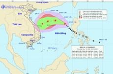 Bão số 13 di chuyển chậm, có khả năng suy yếu thành áp thấp nhiệt đới