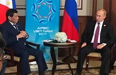 Philippines và Nga sẵn sàng thúc đẩy hợp tác song phương