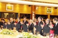 Chiêu đãi trọng thể chào mừng Tổng Bí thư, Chủ tịch Trung Quốc