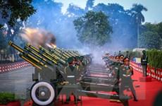 Nghi lễ bắn 21 phát đại bác chào mừng Tổng Bí thư, Chủ tịch Trung Quốc