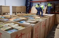 Cảnh sát Tây Ban Nha triệt phá vụ buôn lậu thuốc lá lớn nhất châu Âu