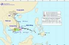 Hoàn lưu áp thấp nhiệt đới gây mưa to cho các tỉnh Nam Trung Bộ