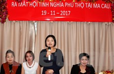 Chính thức ra mắt Hội Tình nghĩa Phú Thọ tại Macau Trung Quốc