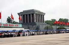 Lễ viếng Chủ tịch Hồ Chí Minh sẽ được tiếp tục tổ chức từ ngày 5/12