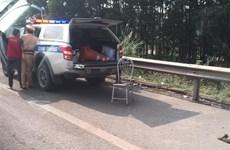 Thăng cấp bậc cảnh sát hy sinh trên cao tốc Hà Nội-Thái Nguyên
