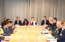 Chủ tịch Quốc hội dự đối thoại doanh nghiệp Việt Nam-Australia