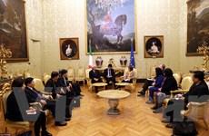 Việt Nam-Italy tăng cường quan hệ hữu nghị, đối ngoại, lập pháp
