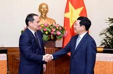 Việt Nam sẵn sàng làm cầu nối triển khai FTA giữa Kazakhstan-ASEAN