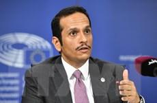 Ngoại trưởng Qatar-Saudi Arabia gặp nhau lần đầu sau khi cắt quan hệ