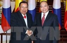Thủ tướng Nguyễn Xuân Phúc hội kiến Tổng Bí thư, Chủ tịch nước Lào