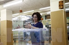 Tây Ban Nha: 5,5 triệu cử tri vùng Catalonia bắt đầu đi bỏ phiếu