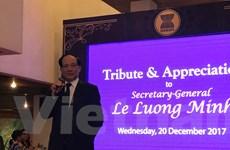 Ông Lê Lương Minh chuẩn bị kết thúc nhiệm kỳ Tổng Thư ký ASEAN