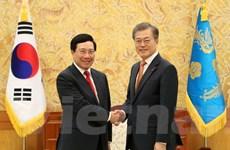 Các hoạt động của Phó Thủ tướng Phạm Bình Minh tại Hàn Quốc