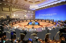 Hòa đàm Syria tại Astana tập trung thảo luận kế hoạch do Nga đề xuất