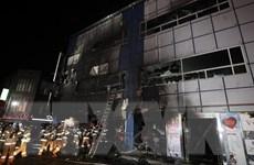Cảnh sát Hàn Quốc tiến hành điều tra vụ hỏa hoạn ở Jecheon