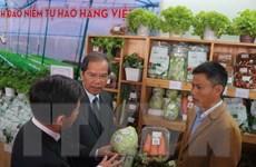 Hơn 170 gian hàng tham gia phiên chợ rau-hoa tại Festival Hoa Đà Lạt