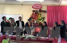 PTT Trương Hòa Bình chúc mừng Giáng sinh tại Kon Tum, Gia Lai