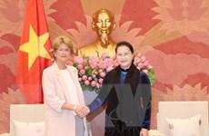 Chủ tịch Quốc hội Nguyễn Thị Kim Ngân tiếp Đại sứ Tây Ban Nha