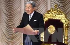 Nhật hoàng Akihito gửi lời chúc mừng năm mới tới toàn dân