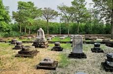 Khai quật mộ cổ tại Khu di tích quốc gia đặc biệt nhà Trần