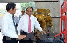 Thủ tướng Nguyễn Xuân Phúc thăm, làm việc với Tập đoàn Cao su