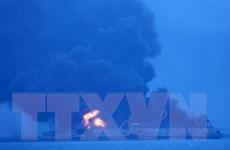 Trung Quốc ngăn chặn thảm họa môi trường do tàu Iran cháy