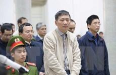Bị cáo Trịnh Xuân Thanh bị Viện kiểm sát đề nghị phạt tù chung thân