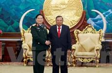 Lào-Việt cùng nhau xây dựng đường biên giới hoà bình hữu nghị