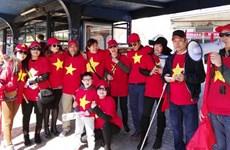 Người Việt tại Séc tự hào trước chiến thắng của U23 Việt Nam