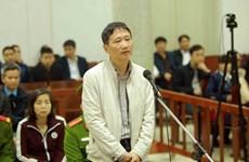 Bị cáo Trịnh Xuân Thanh tiếp tục phải hầu tòa vụ án tại PVP Land
