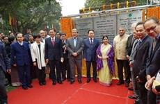 Bộ trưởng Trần Hồng Hà dự khánh thành Công viên hữu nghị Ấn Độ-ASEAN