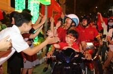 TP.HCM lắp nhiều màn hình lớn chiếu trận chung kết của U23 Việt Nam