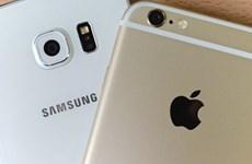 Apple vượt lên dẫn trước Samsung trong quý cuối năm 2017