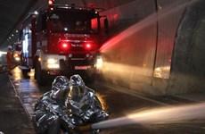 Diễn tập chữa cháy và cứu nạn, cứu hộ trong hầm Đèo Cả
