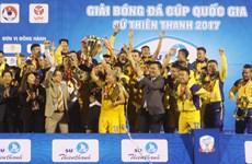 Trận siêu cúp bóng đá quốc gia sẽ khởi đầu mùa giải năm 2018