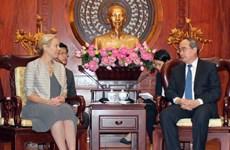 TP.HCM và Hà Lan đẩy mạnh hợp tác trong lĩnh vực chống ngập