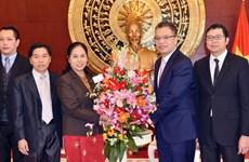 Đại sứ Lào tại Trung Quốc chúc mừng nhân 88 năm thành lập Đảng