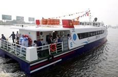 Khai trương tàu cao tốc Thành phố Hồ Chí Minh-Cần Giờ-Vũng Tàu