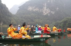 Quần thể danh thắng Tràng An có thêm tuyến tham quan đường thủy mới
