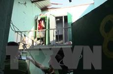 Nổ tại phòng trọ khiến 4 người trong một gia đình bị thương nặng