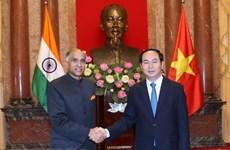 Thúc đẩy hợp tác sâu rộng, tin cậy và hiệu quả Việt Nam-Ấn Độ