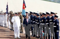 Australia bắn 19 loạt đại bác chào đón Thủ tướng Nguyễn Xuân Phúc