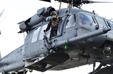 Máy bay quân sự chở bảy người của Mỹ rơi tại miền Tây Iraq